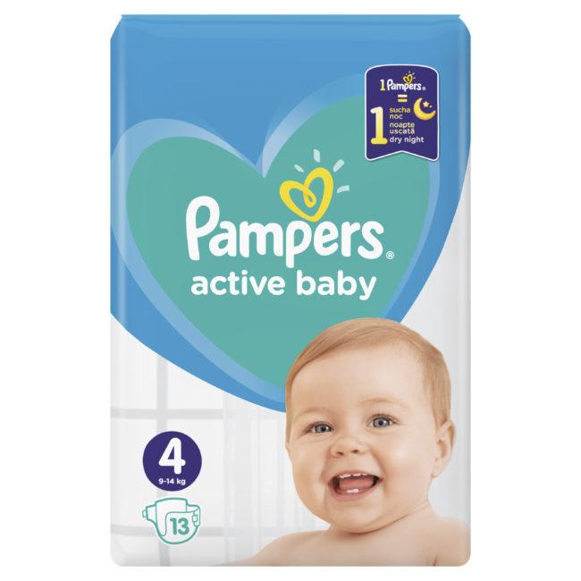 Pampers Active Baby pieluchy jednorazowe Maxi