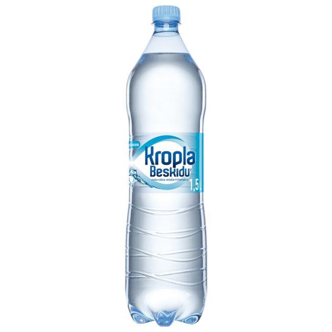 Kropla Beskidu naturalna woda mineralna niegazowana