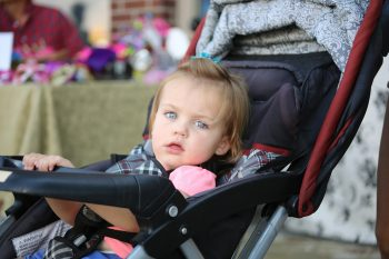 Pierwszy wózek i fotelik samochodowy dla dziecka