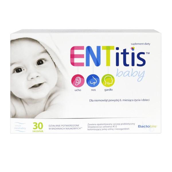 ENTitis Baby proszek o smaku neutralnym