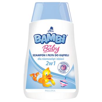 BAMBI – Baby Szampon i płyn do kąpieli 2 w 1