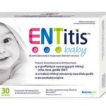 ENTitis Baby proszek o smaku bananowym