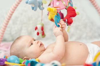 Pierwsze zabawki dla dziecka