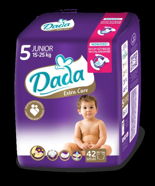 Dada Extra Care Pieluchy jednorazowe JUNIOR
