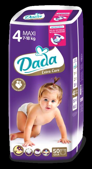Dada Extra Care Pieluchy jednorazowe MAXI