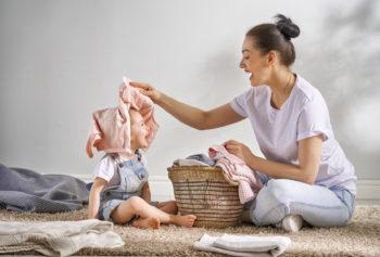 Bezpieczne pranie – proszki do prania ubranek dziecięcych