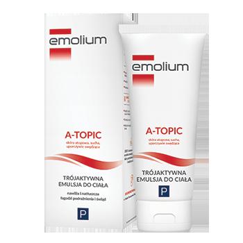 Emolium A-Topic Trójaktywna emulsja do ciała
