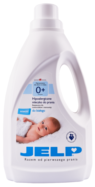 JELP 0+ Hipoalergiczne mleczko do prania do białego