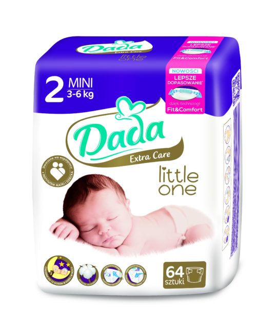 Dada Extra Care Pieluchy jednorazowe MINI
