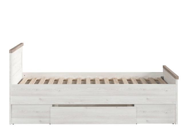 BRW łóżko Luca Juzi