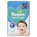 Pampers Active Baby Maxi Plus 4+ pieluchy jednorazowe