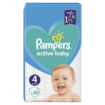 Pampers Active Baby Maxi 4 pieluchy jednorazowe