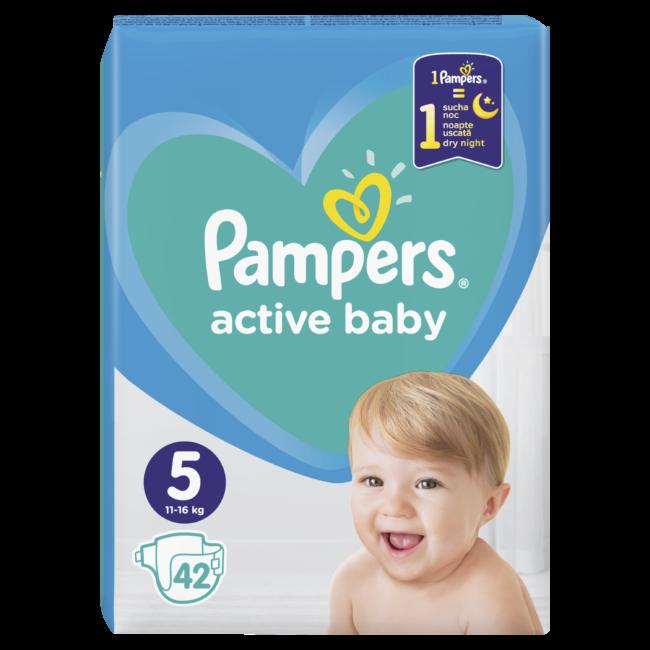 Pampers Active Baby Junior 5 pieluchy jednorazowe