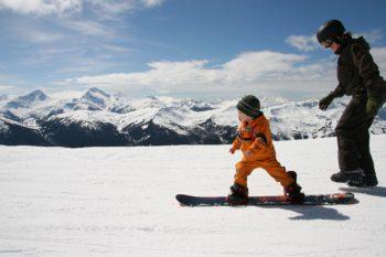Aktywna zima, cz. 2 – z dzieckiem na narty i snowboard