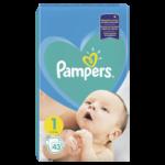 Pampers Active Baby Newborn 1 pieluchy jednorazowe
