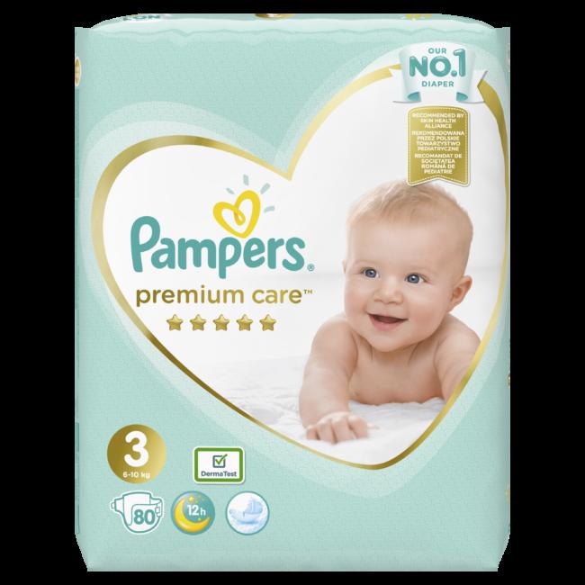 Pampers Premium Care Midi 3 pieluchy jednorazowe