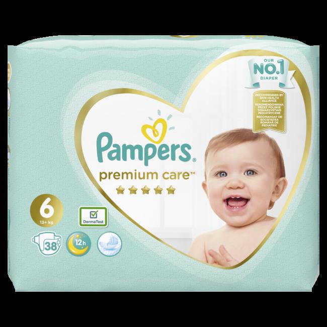 Pampers Premium Care Junior Extra 6 pieluchy jednorazowe