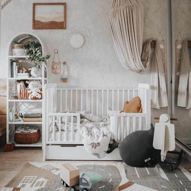 Woodies łóżeczko niemowlęce Classic Cot